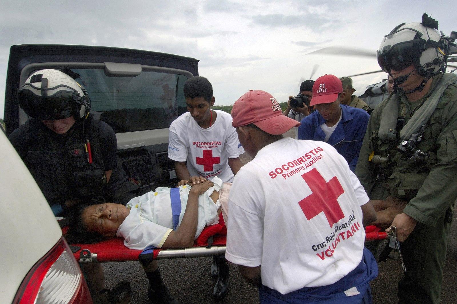ed Cross Disaster Relief Volunteers