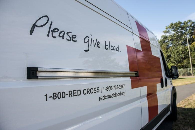 American Red Cross van