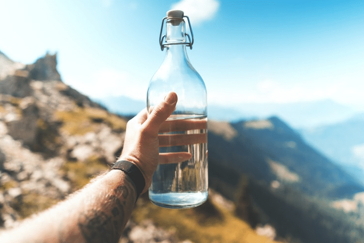How does your water intake impact your skin health?